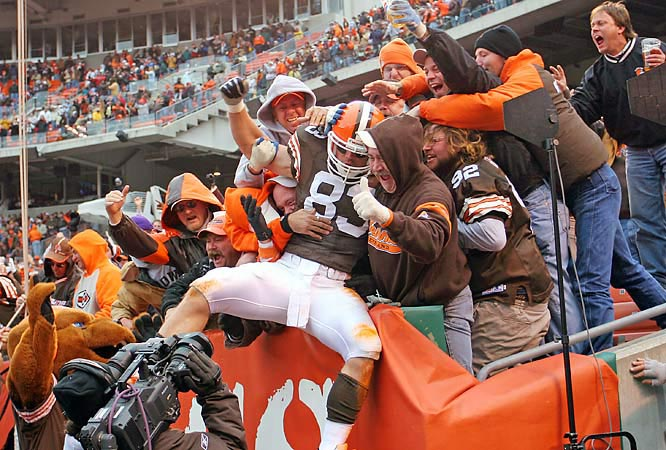 The current version of the Pound is a bit tamer than the group that would throw things at opponents in the Browns' old Municipal Stadium. But the crazy bleacher section is still one of the most rabid areas in the NFL.