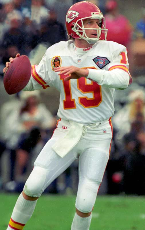 Montana had some success in Kansas City, but let's face it, Joe Cool should have retired in a 49ers uniform.