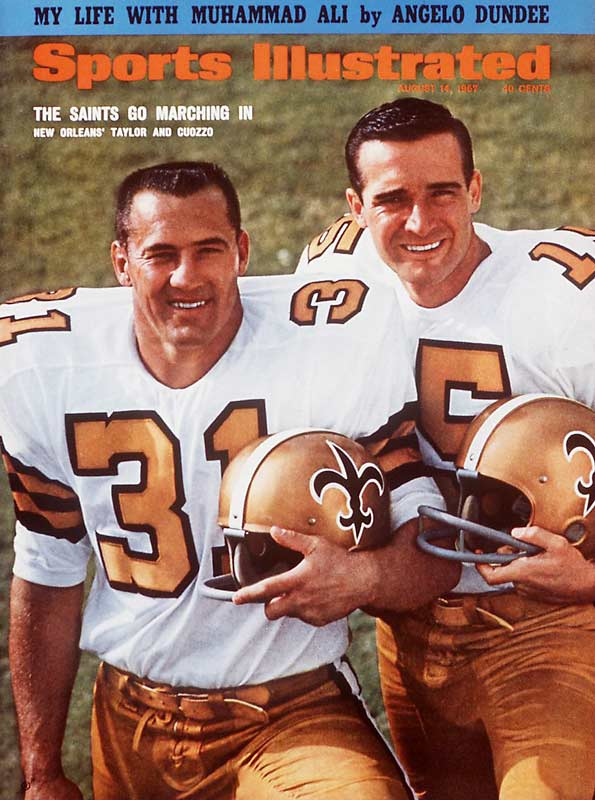 Following the '66 season he left the Packers over a contract dispute, spent one season with the Saints (130 carries for 390 yards) and then retired.