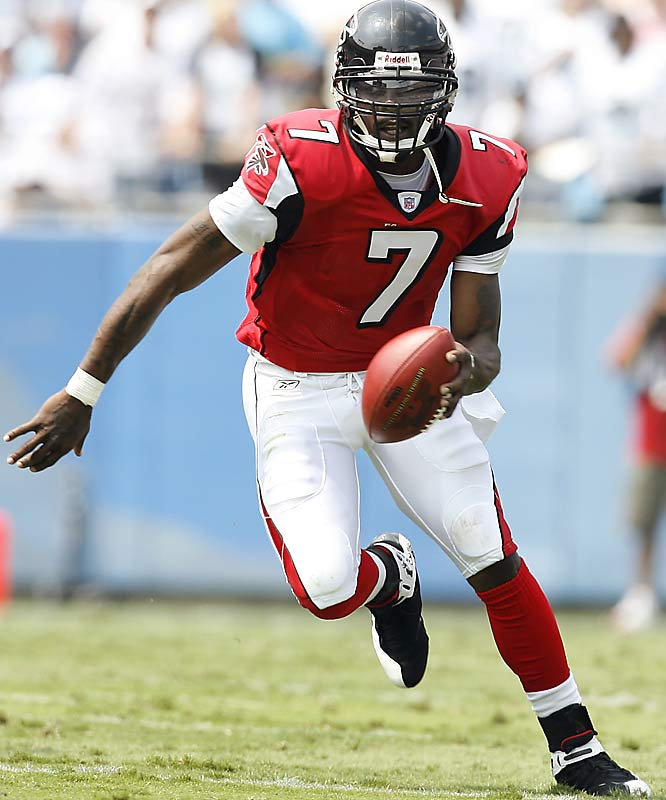 While Vick is loaded with talent, rumors about his off-field activities have to be a major concern for the Falcons. If dog-fighting allegations prove to have merit, the Falcons QB could face an NFL suspension, and Atlanta doesn't have much room for error in the competitive NFC South. And there is the matter of how long it will take Vick to get comfortable with new coach Bobby Petrino's offense. The Falcons signed Joey Harrington to back up Vick.