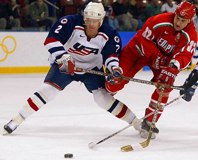 With Leetch on the backline, the 2002 U.S. Olympic Hockey Team won the silver medal at the Winter Games in Salt Lake City.
