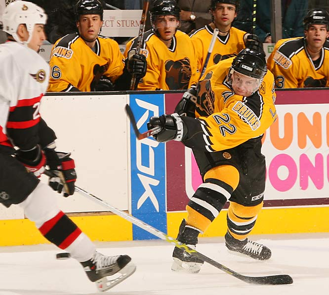 After the lockout, Leetch played one more season, scoring 32 points in 61 games for the Boston Bruins in 2005-06. He hangs up his skates with 247 goals, 781 assists and 1,028 points. He is one of only seven NHL defenseman who have topped the 1,000 point mark.