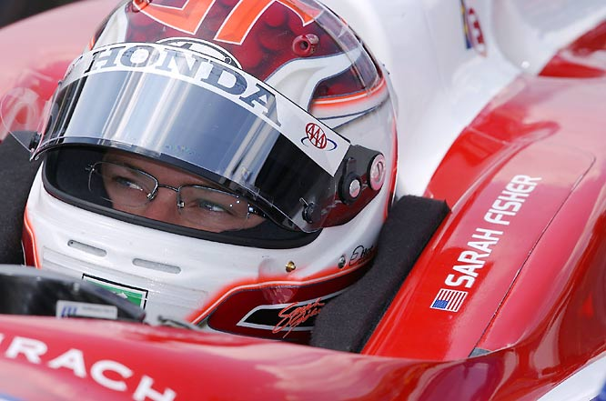 Fisher has driven in five consecutive Indy 500s, the first coming n 2000, and had her best finish in 2004, when she came in 21st.