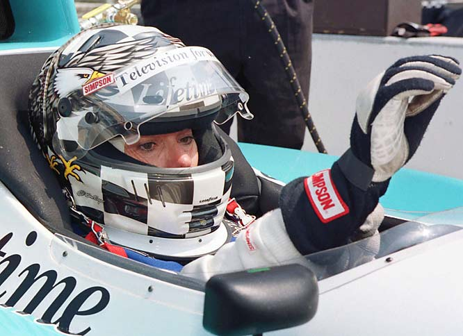 St. James was the first woman to win the Indy 500 Rookie of the Year Award. Her highest finish (15th) came in her first race, in 1992.