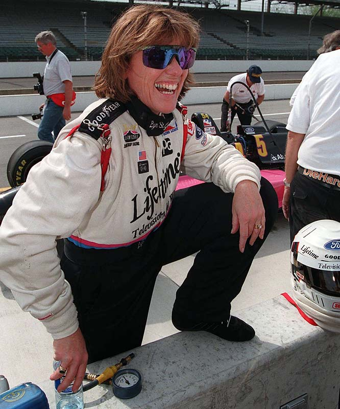 St. James, who had 15 IndyCar starts, created the Lyn St. James Foundation, which trains young drivers.