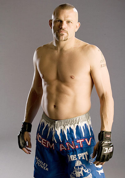 "Chuck ""The Iceman"" Liddell is one of the UFC's top stars, and the among the most recognizable faces in the business. His Mohawk and tattoos give him a unique look, and he fits the image many people have of MMA fighters."