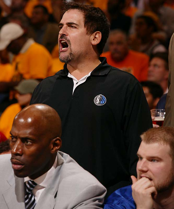 Owner Mark Cuban said he doesn't foresee ''blowing anything up'' after his 67-win Mavs failed to get out of the first round in defense of their Western Conference title.