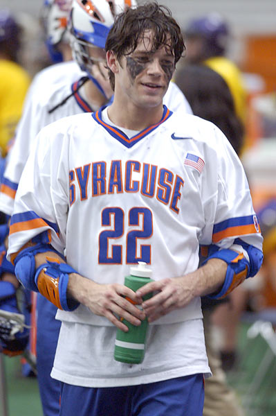 Powell led the Orange to two National Championships. When he graduated in 2004, his 307 points were a Syracuse record and second-best on the NCAA's all-time list. He was a two-time Tewaaraton Trophy winner, a four-time first-team All-American and the only NCAA lacrosse player to be named National Attackman of the Year four times.