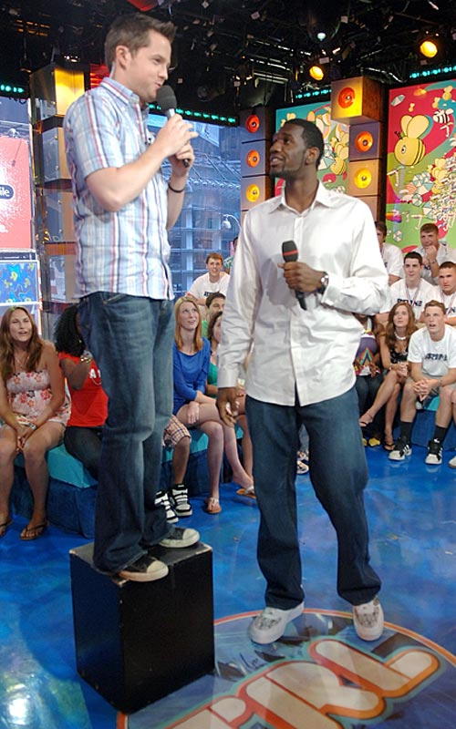 Doesn't Greg Oden look a little too old for the MTV TRL crowd?