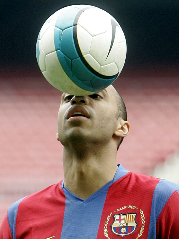 French soccer striker Thierry Henry might want to get that removed.
