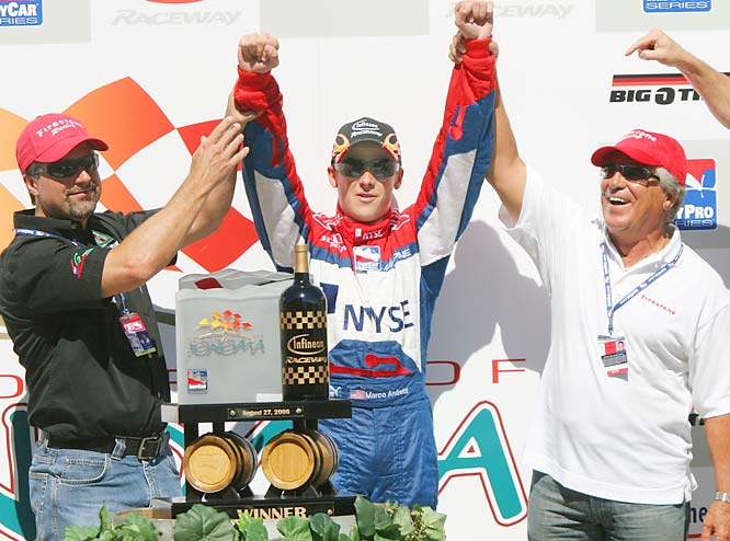 Like father, like son and grandson, the Adrettis are IRL/IndyCar royalty.