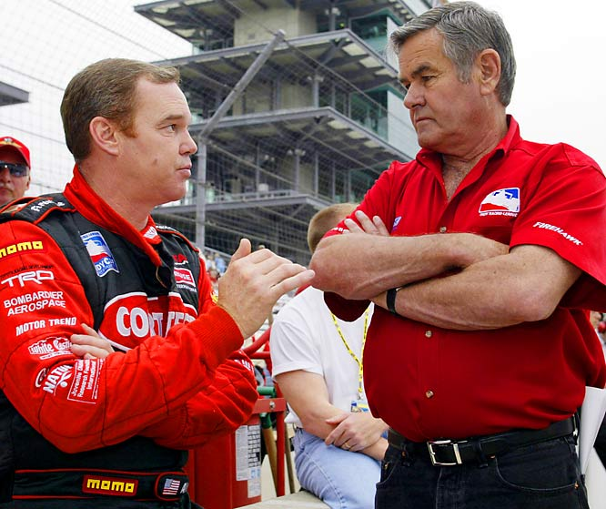 Junior is halfway to his father's total of four Indianapolis 500 victories.
