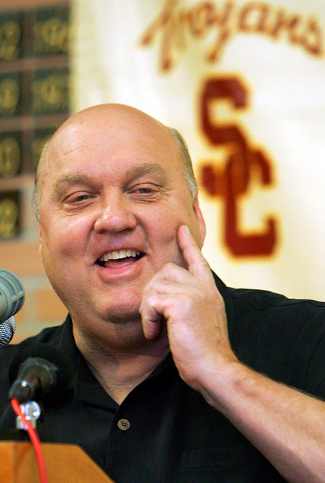 Less than a week after accepting the head basketball coaching job at USC, Majerus quit, citing health concerns.