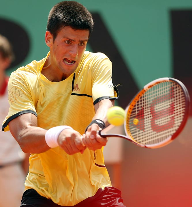 With a straight set victory over Igor Andreev, Novak Djokovic advanced to the semifinals of the French open where he will meet second-seeded Rafael Nadal.