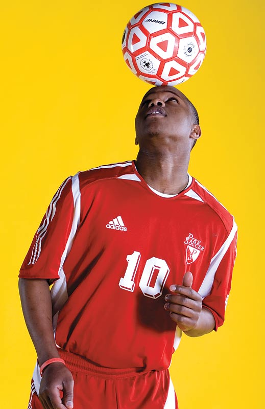 Dieng was selected as an NSCAA/adidas All-American in the fall of 2006 after scoring 29 goals and tallying 16 assists for Pike as a senior. Dieng, a Senegal native who notched 26 goals and 20 assists as a junior, was twice named Indianapolis Star Super Team Player of the Year.