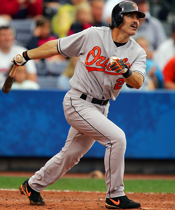 Rafael Palmeiro became the 26th member of the 3,000-hit club on July 15, 2005, with a double off Seattle's Joel Pineiro at Safeco Field. Palmeiro was suspended for violating MLB's drug policy less than three weeks later.
