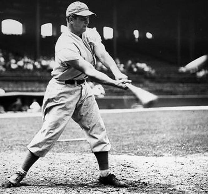 Foxx hit 30 or more homers in 12 consecutive seasons between 1929-40. Double X became the second member of the club on Sept. 24, 1940, in Philadelphia with a solo homer off George Caster.