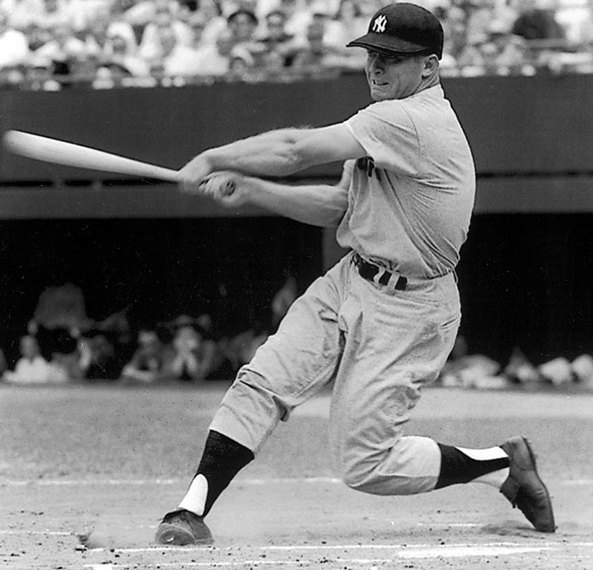 Mantle, who also hit a record 18 home runs in the World Series, led the American League in homers four times. The Commerce Comet became the sixth member of the club on May 14, 1967, in New York with a solo homer off Baltimore's Stu Miller.
