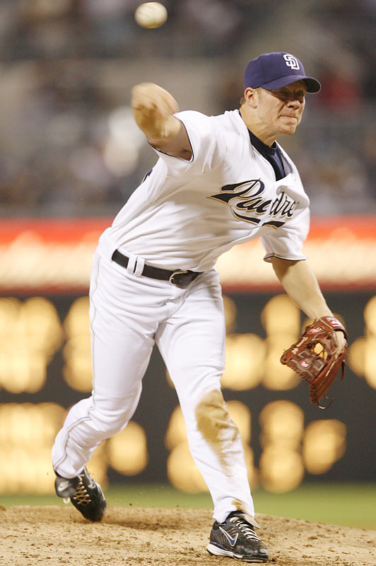 Peavy won the pitching Triple Crown in 2007, leading the NL in wins (19), ERA (2.40) and strikeouts (240) on his way to the Cy Young award.