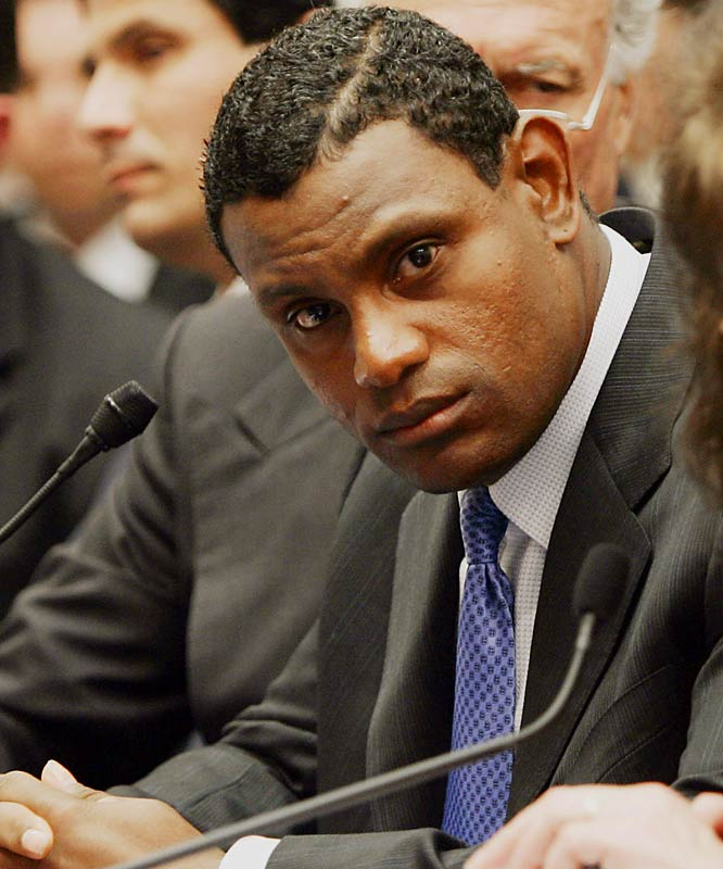 "Testifying in front of Congress in March 2005, Sosa denied ever having used ""illegal performance-enhancing drugs"" and said that he never ""injected myself or had anyone inject me with anything."""