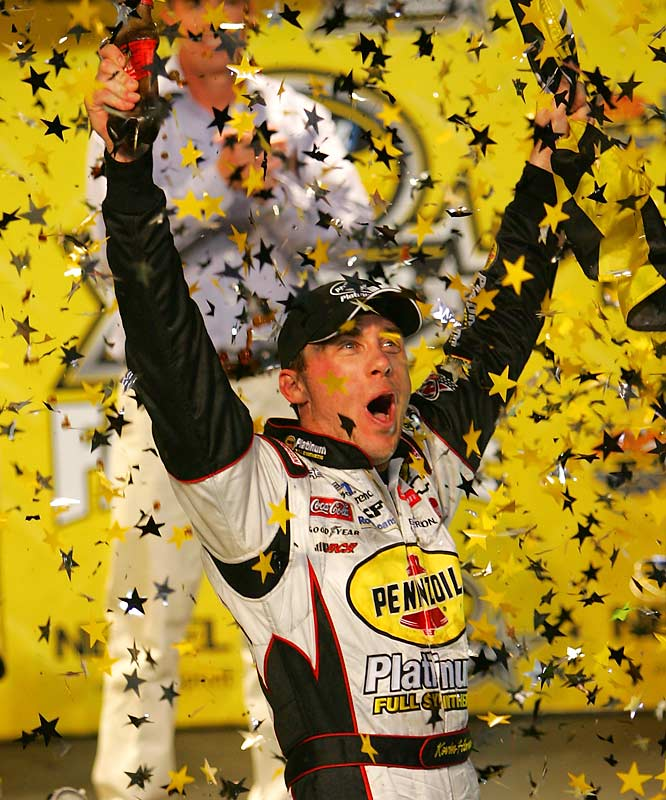 The 2007 Daytona 500 winner says what he thinks and has no problem talking trash - then going out and backing it up. When you drive the former Initimidator's car, you're bound to have some of his style rub off, and Harvick pulls no punches on the speedway when it's time to turn on the afterburners.