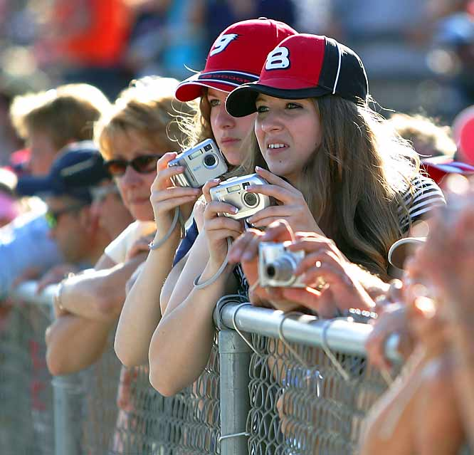 NASCAR fans are a passionate and loyal bunch. They tailgate and cheer with gusto; they stand by their driver of choice and rarely waiver. The sport boasts 75 million fans. Here's a collection of shots of some of the best of them.