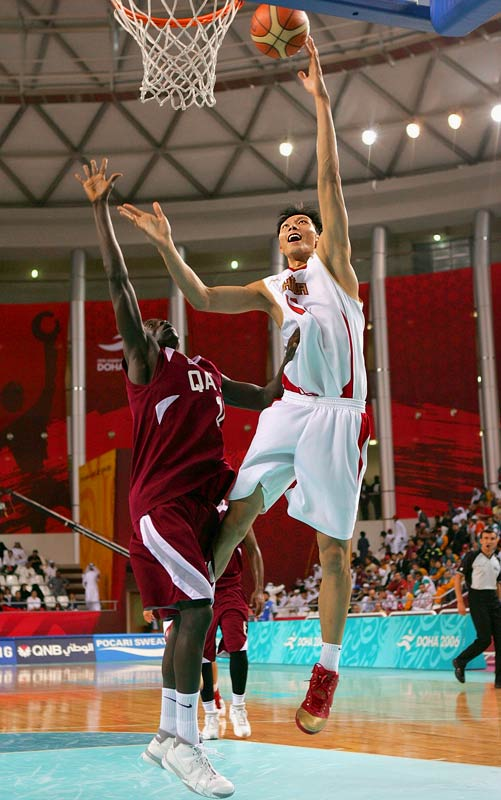 While he is still very thin, Yi is an excellent athlete who has nice-looking form on his jump shot, with range out to 20 feet. He had a 13-point, seven-rebound performance in China's loss to the United States at the World Championships last August. He is projected to be the only lottery pick among the international prospects.
