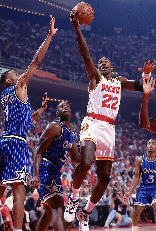 Shaquille O'Neal, then 23, had led the league in scoring and was already being compared to Wilt Chamberlain, but he and his teammates couldn't stop the Rockets, who became the first team to defend a title with a sweep. O'Neal later said after the sweep that he cried for only the fourth time in his life.