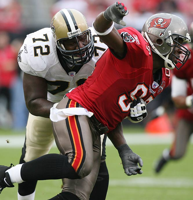 Rice's disappointing 2006 campaign was ended by a shoulder injury, but the Bucs are dedicated to getting to the passer this season and Rice could have a big year. Tampa Bay drafted speedy end Gaines Adams with the No. 4 overall pick, which should make it more difficult to double-team Rice.