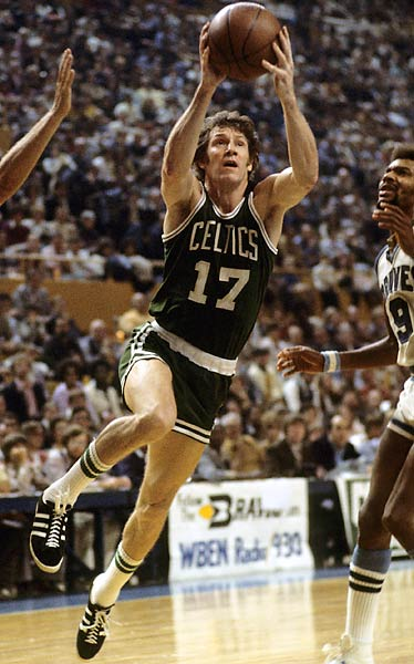 One of the NBA's clutch performers, Hondo played on eight Celtic championship teams and is regarded as the best sixth-man in history.   <br><br>Runner-up: Jari Kurri.<br><br>Worthy of consideration: Matt Kenseth, Dizzy Dean, Mark Grace.