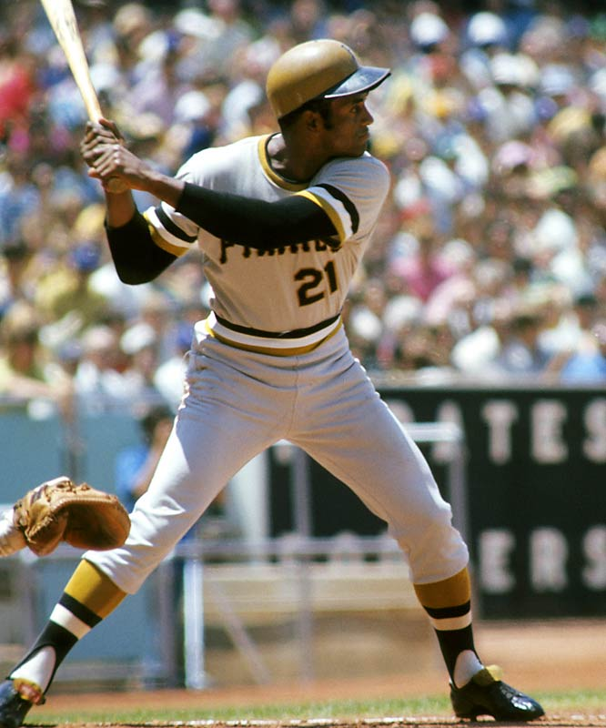 He is remembered as much for his humanitarianism as for his renown in right field. Clemente won four batting titles, 12 Golden Glove awards and finished his career with 3,000 hits. He died at 38, in 1972, in a cargo plane that was carrying supplies and food to Nicaragua.<br><br>Runner-up: Roger Clemens.<br><br>Worthy of consideration: Tim Duncan, Sidd Finch, Kevin Garnett, Stan Mikita, David Pearson, Deion Sanders, Sammy Sosa,Warren Spahn, LaDainian Tomlinson, Dominique Wilkins.