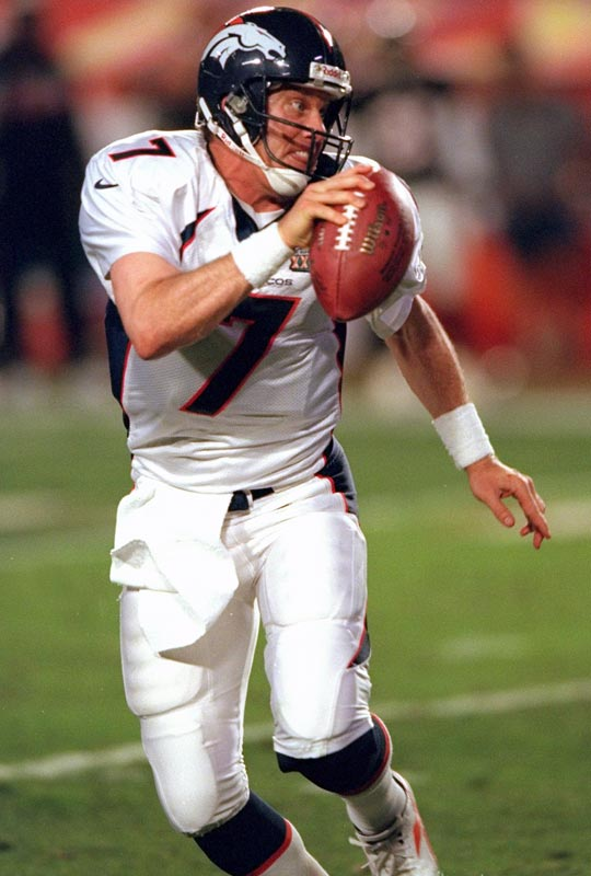 The personification of persistence. Elway lost the first three Super Bowls he appeared in before leading the Broncos to titles in 1997 and '98. He led Denver to a record 47 fourth-quarter comebacks. <br><br>Runner-up: Mickey Mantle.<br><br>Worthy of consideration: David Beckham, Phil Esposito, Ted Lindsay.