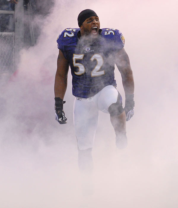 The NFL's current standard bearer at middle linebacker is a two-time NFL Defensive Player of the Year. He enters his 12th season in 2007.<br><br>Runner-up: Mike Webster.<br><br>Worthy of consideration: Buck Williams.