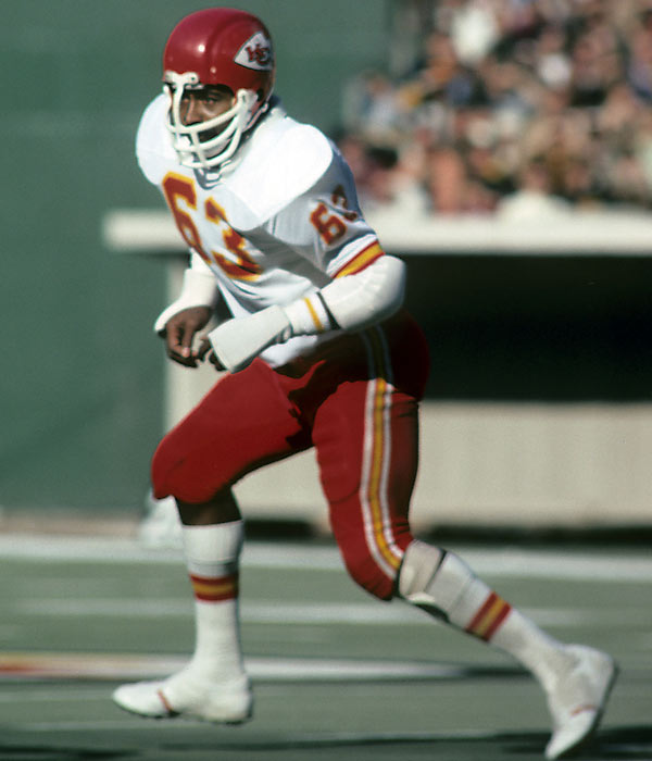 Lanier, an All-Pro every year from 1968 through 1977, was the first African-American star at middle linebacker. He played his entire 11-year career for the Chiefs.<br><br>Runner-up: Lee Roy Selmon.<br><br>Worthy of consideration: Dermontti Dawson, Gene Upshaw.