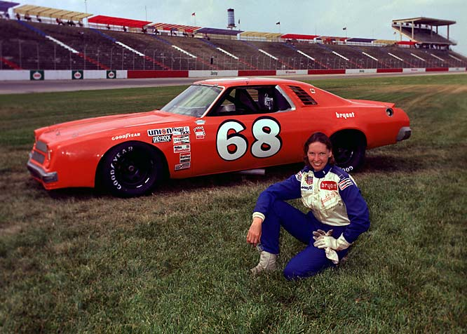 Guthrie nearly became the first woman astronaut. Instead, she became the first woman to race in both the Indianapolis 500 and the Daytona 500. In 1977, Guthrie became the only woman ever to compete full time on NASCAR's top circuit.
