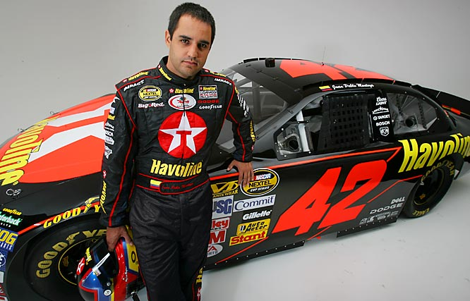 Montoya became the first F1 driver to jump to NASCAR in the prime of his career. He is also one of the first Hispanics to have a regular ride in the Nextel Cup Series.