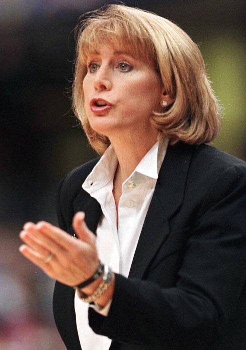 Lieberman-Cline was one of the earliest Title IX success stories as a three-time All-America at Old Dominion from 1979-80. She later played professionally and served as the Women's Sports Foundation's president. She's now a women's basketball analyst for ESPN.