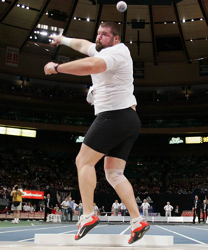 After winning at the U.S. Indoors earlier this year with a throw of 21.72 meters, Cantwell looks to be the favorite going into the Outdoor Champioinships.