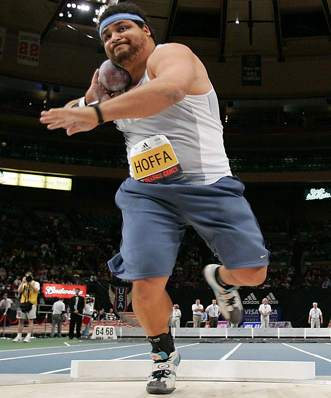 Hoffa, who owns a personal best of 22.11 meters, has been a consistent presence on the podium in American shot put competitions for the past five years.