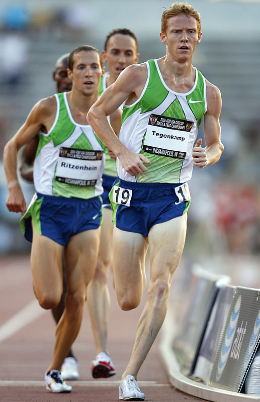 Tegenkamp is a strong competitor at several of the middle distances and came in second in the 5,000 a year ago at Nationals.