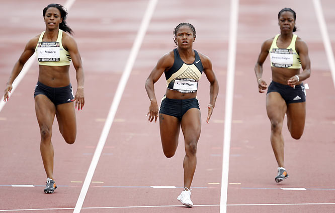 Williams, who was plagued by injuries in 2006 after winning the 100 at the Outdoors in 2005, is hoping a strong performance at this year's Nationals can help get her career back on track.