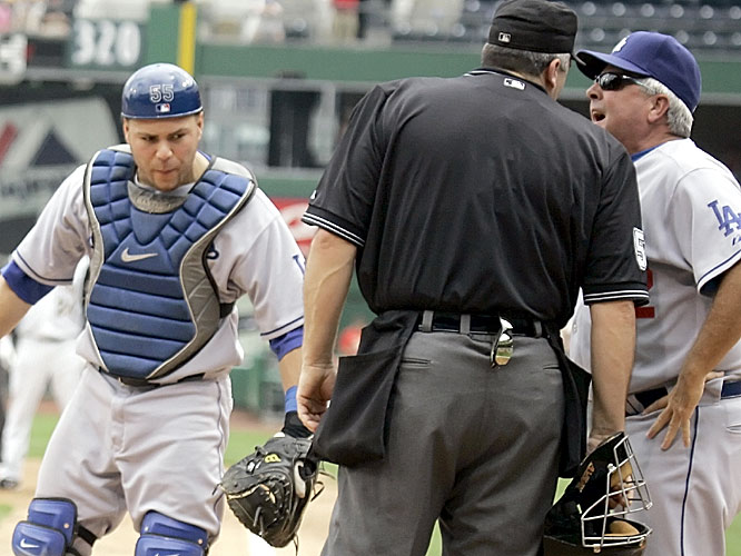 Grady Little was booted after arguing with home plate umpire Bill Welke after the Pirates scored on a close play at the plate to take a 3-0 lead. The Dodgers rallied for a 5-4 win.