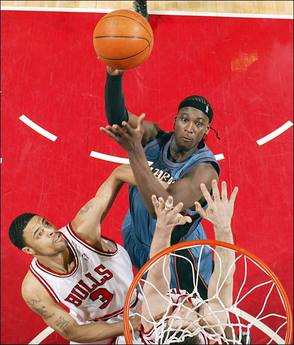 Now 31, Michael Jordan's handpicked choice has played for seven teams in 12 seasons and sports career averages of 6.6 points and 5.5 rebounds. Brown, however, did experience something of a rebirth after reuniting with Jordan in Charlotte in 2010-11, when the 6-11 center averaged 9.4 points and 7.0 rebounds. Those were his best numbers since 2006-07. He was hurt for most of 2011-12 after signing with Golden State and put up abysmal numbers with the 76ers in 2012-13.