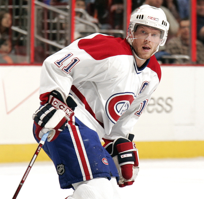 <b>SAKU KOIVU</b><br><br>The 32-year-old center, who works with a number of charities, battled and beat non-Hodgkins lymphoma.