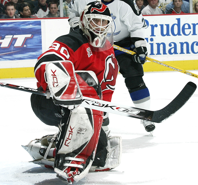 <b>MARTIN BRODEUR</b><br><br>The 35-year-old won an NHL-record 48 games, posted a league-best 12 shutouts, had a 2.18 GAA and his save percentage was an impressive .922.