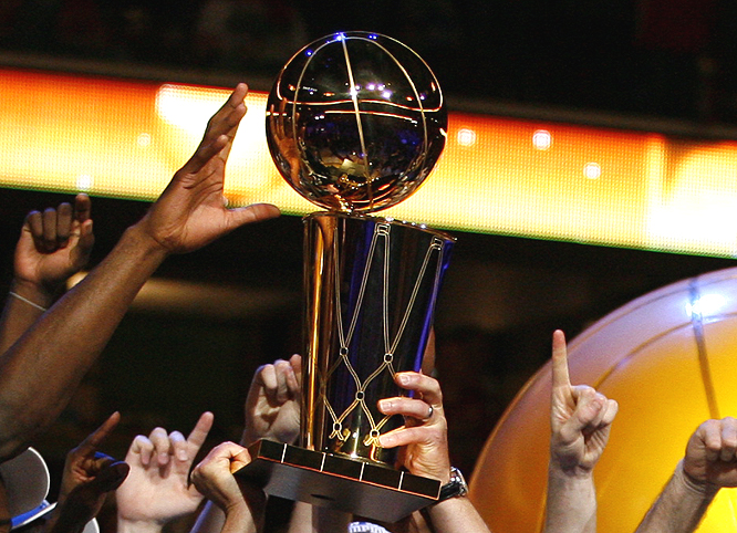 For the fourth time in nine years, the Spurs will take a trophy back to San Antonio.