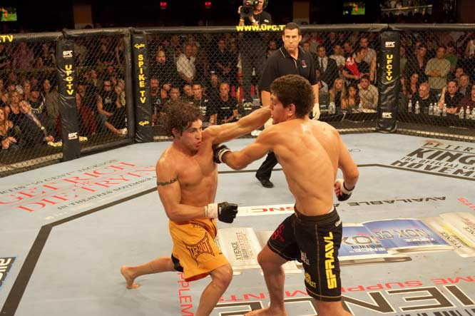 The UFC has presented many exciting and memorable fights since Zuffa, LLC purchased the company in 2001. Here is a look at the greatest matches from that period.<br><br>Nick Diaz and Diego Sanchez had a memorable war of words prior to their fight, with the outspoken Diaz asserting that Sanchez didn't belong to be in the Octagon with him. Sanchez proved Diaz wrong with aggressive takedowns and ground and pound, but Diaz also proved his worth in this competitive bout.