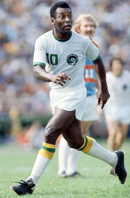 Long before Becks, there was Pelé: ''Soccer genius signs with the New York Cosmos,'' declared NBC's Evening News on June 10, 1975. That was the day 34-year-old Edson Arantes do Nascimento signed a three-year, $4.5 million deal with the Cosmos of the North American Soccer League. His arrival immediately changed the perception of soccer in the U.S. He played his last game on Oct. 1, 1977 -- ultimately, it marked the beginning of the end for both the Cosmos and the NASL, which folded in 1985.
