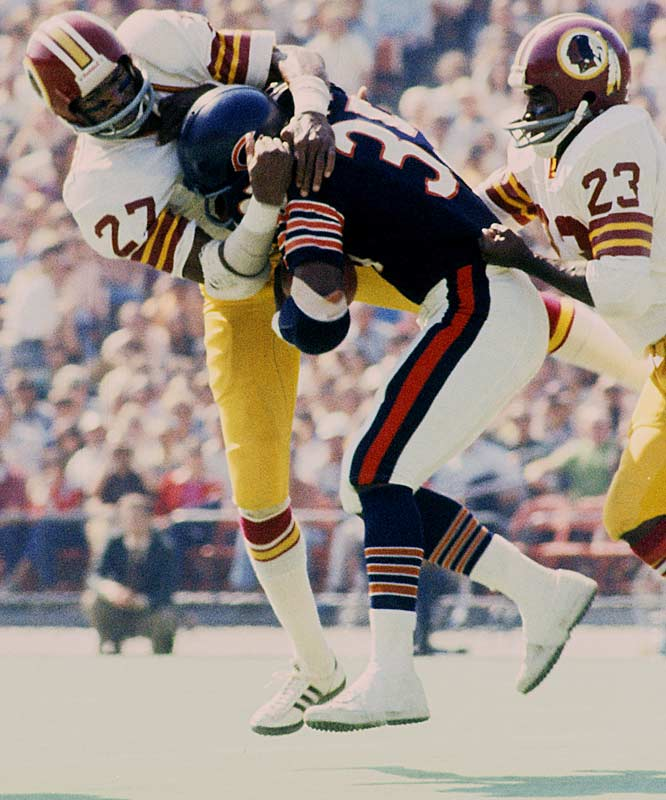 1967-1972 Houston, 1973-1980 Washington  <br><br>His speed made him an excellent pass defender, but his strength and 6-3, 197-pound frame made him a punishing tackler. Together, his skills made him the premier strong safety of his era.