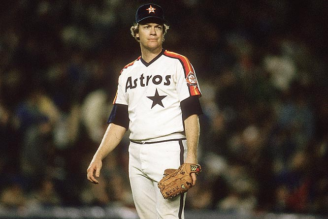 Though the Astros lost the series four games to two, Houston pitcher Mike Scott, the Cy Young Award winner that season with an 18-10 record and 2.22 ERA, dominated Games One and Four.